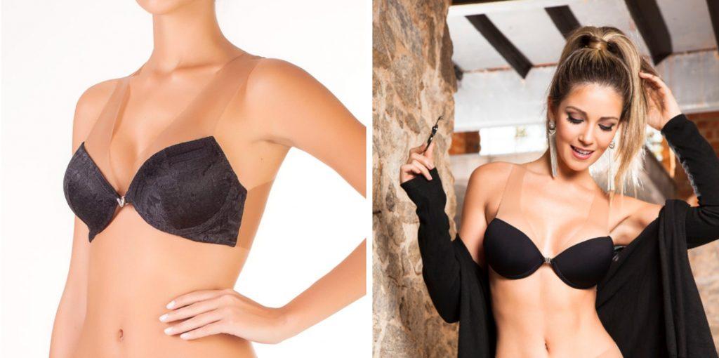 95ceddfe2 Ele pode ser usado com roupas decotadas e cavadas nas costas sem problema  nenhum